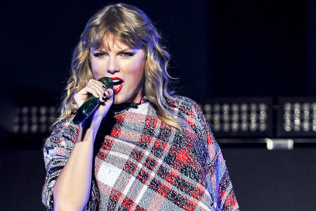 "<p>In November 2017, the megastar enhanced her ""reputation"" as the hottest American hit maker when her sixth studio album, <i>Reputation</i>, sold more than 1 million copies in its first week. It was her fourth album in a row to achieve that feat.<br>(Photo: Getty Images) </p>"
