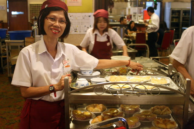 """Alice has been working here since the restaurant's inception in 1979. She is probably one of the few """"friendlier"""", less gruff staff."""