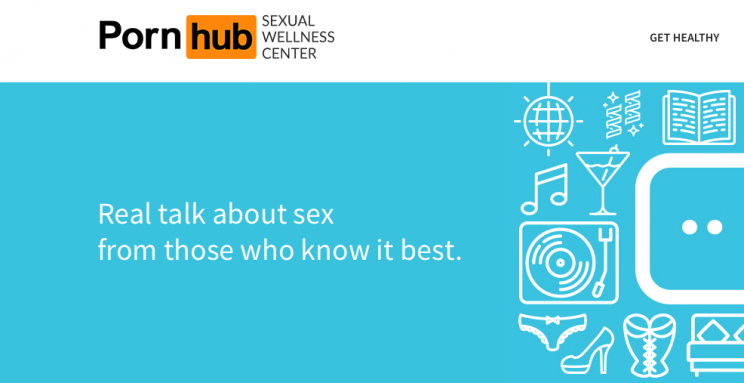 PornHub has launched a new Sexual Health website (Picture: PornHub)