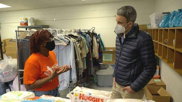 PHOTO: Charleston Promise Neighborhood, a nonprofit group, has been stockpiling food, clothing and hygiene products for children and families at Mary Ford Early Learning Center in North Charleston, S.C. (ABC News)