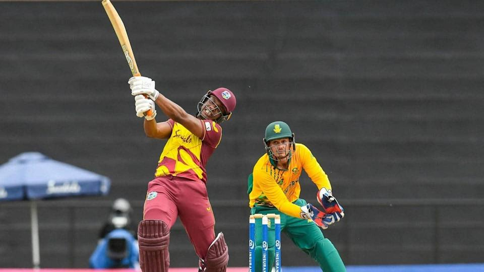 West Indies win first T20I against South Africa: Records broken