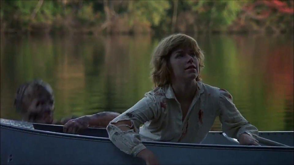 """<p><em><strong>Friday the 13th</strong></em></p><p>A mysterious killer lurking in the shadows of an abandoned summer camp murders a group of teens who have come to re-open the camp. The film was so successful that it spawned 12 (!) sequels.</p><p><a class=""""link rapid-noclick-resp"""" href=""""https://www.amazon.com/Friday-13th-Betsy-Palmer/dp/B0095D4VDU/?tag=syn-yahoo-20&ascsubtag=%5Bartid%7C10055.g.29120903%5Bsrc%7Cyahoo-us"""" rel=""""nofollow noopener"""" target=""""_blank"""" data-ylk=""""slk:WATCH NOW"""">WATCH NOW</a></p>"""
