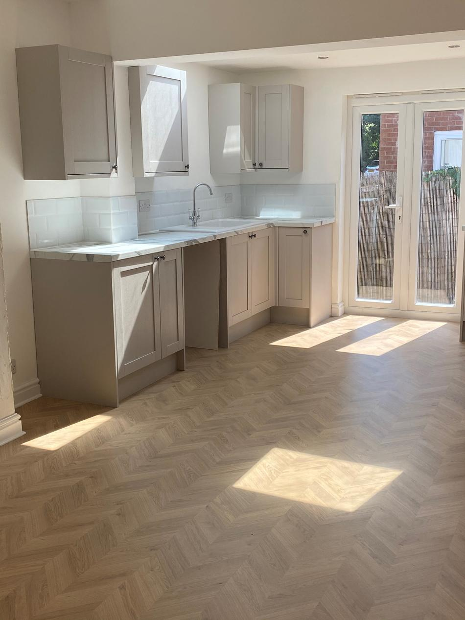 The newly refurbished kitchen in the house being raffled off. (PA Real Life)