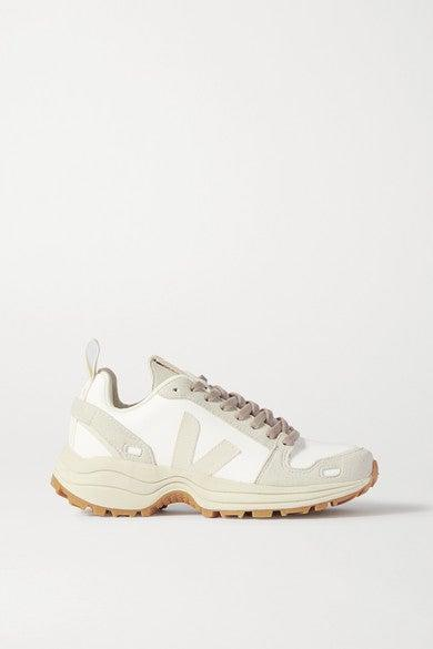 "<br><br><strong>Rick Owens x Veja</strong> Vegan Leather And Suede Sneakers, $, available at <a href=""https://go.skimresources.com/?id=30283X879131&url=https%3A%2F%2Fwww.net-a-porter.com%2Fus%2Fen%2Fproduct%2F1208104%2FRick_Owens%2F-veja-vegan-leather-and-suede-sneakers"" rel=""nofollow noopener"" target=""_blank"" data-ylk=""slk:Net-A-Porter"" class=""link rapid-noclick-resp"">Net-A-Porter</a>"