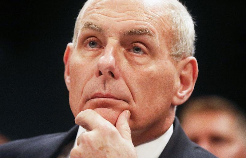 Homeland Security Sec. Kelly Appears Before Congressional Committee