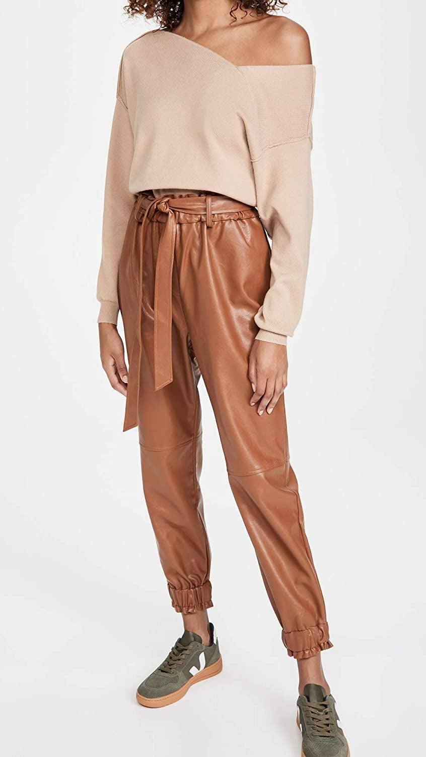 <p>These <span>WAYF Blaine Paperbag Waist Joggers</span> ($65) are so cool.</p>