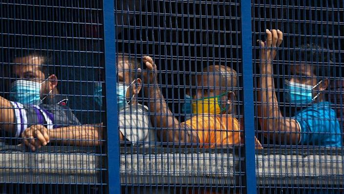 Hundreds of undocumented migrants were arrested in Kuala Lumpur