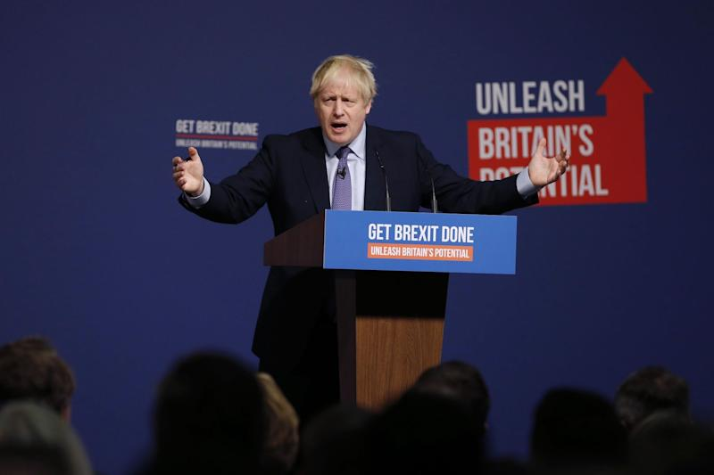 Boris Johnson Set for 68-Seat Majority According to YouGov Poll