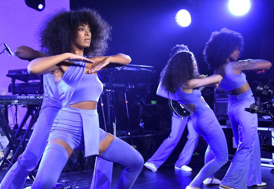 Solange performs at the YouTube @ SXSW showcase during the 2017 SXSW Conference and Festivals on March 15, 2017, in Austin, Texas. (Photo by Tim Mosenfelder/Getty Images)