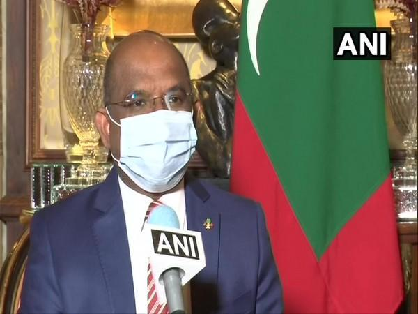 Abdulla Shahid, Foreign Affairs Minister of Maldives speaking to ANI