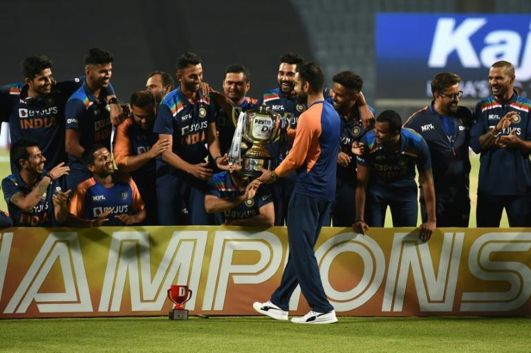 """Virat Kohli and his India teammates had little time for celebrating their ODI series victory before heading into new """"bubbles"""" for next month's IPL"""