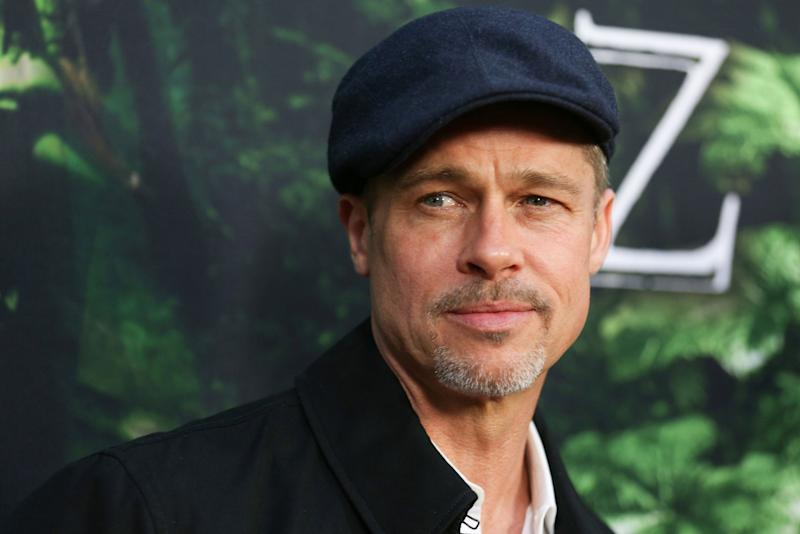 Oh No, Gangs of Women Are Swarming Brad Pitt