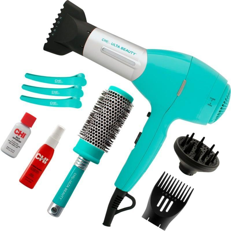 <p>The <span>CHI For ULTA Beauty Gorgeous Blowout Kit</span> ($90, originally $100) is a great gift for hair beginners to experiment with blowouts!</p>