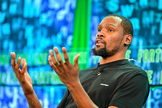 Kevin Durant on His Social Media Hiatus: 'I Felt So Free'