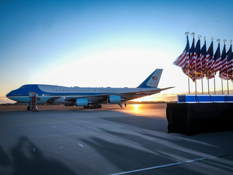 <p>Además de albergar el Air Force One, la Base Andrews brinda servicios para altos funcionarios estadounidenses</p> (Getty Images)
