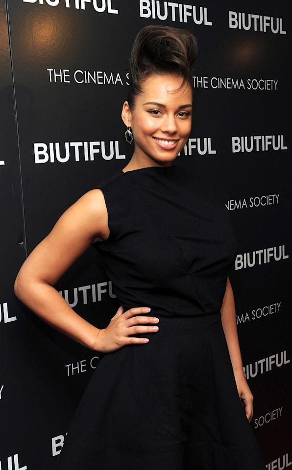 """January 25: Alicia Keys turns 30 Stephen Lovekin/<a href=""""http://www.gettyimages.com/"""" target=""""new"""">GettyImages.com</a> - December 1, 2010"""