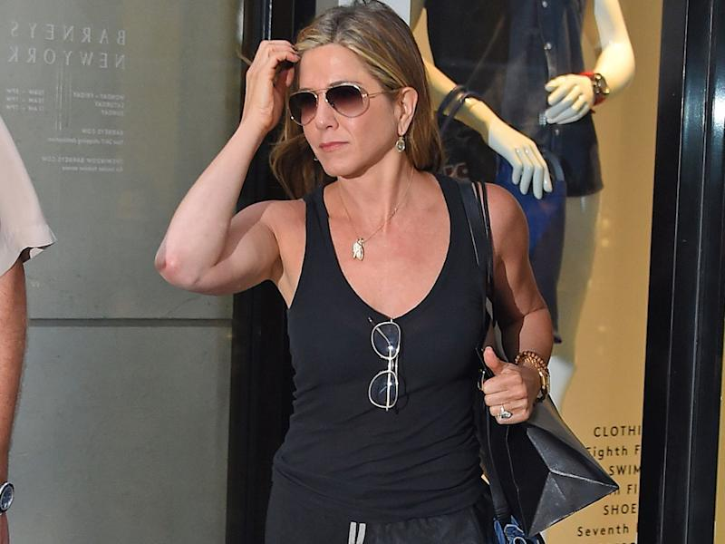 Aniston 'worried about Theroux/Tyler friendship'