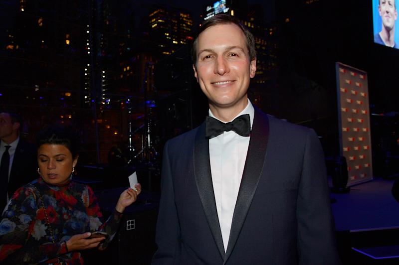 Jared Kushner attends the Time 100 Gala 2019 at Lincoln Center on April 23, 2019. (Photo: Patrick McMullan/Patrick McMullan via Getty Images)