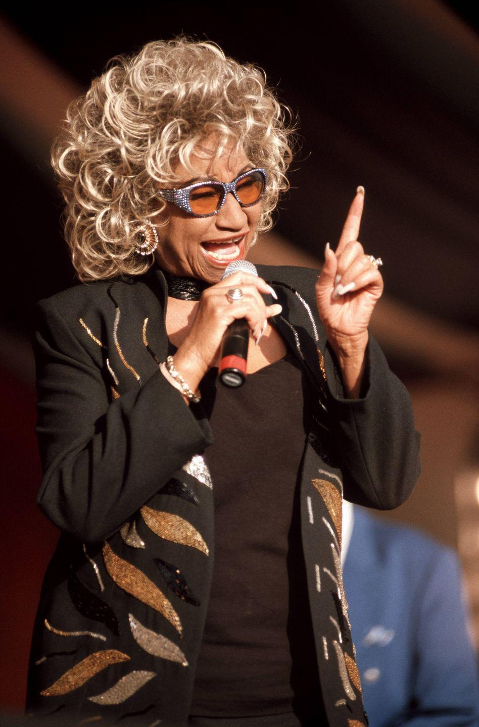 <p>Throughout her life, Cruz was honored with three different doctorates: one honorary doctorate of music from Yale (1989), Florida International University (1992), and University of Miami (in 1999).</p>