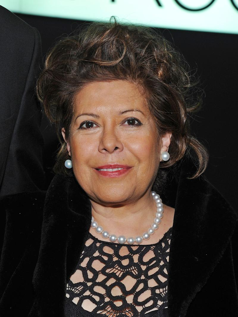 Columba Bush attends the 2012 Lincoln Center Institute Gala at Frederick P. Rose Hall, Jazz at Lincoln Center on March 7, 2012 in New York City. (Photo by Mike Coppola/Getty Images) -- Wife of Jeb Bush -- Mother of George P. Bush, Noelle Bush, Jeb Bush Jr.