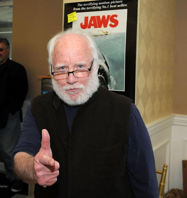 Actor Richard Dreyfuss promotes <em>Jaws</em> on March 10. (Photo: Bobby Bank/Getty Images)