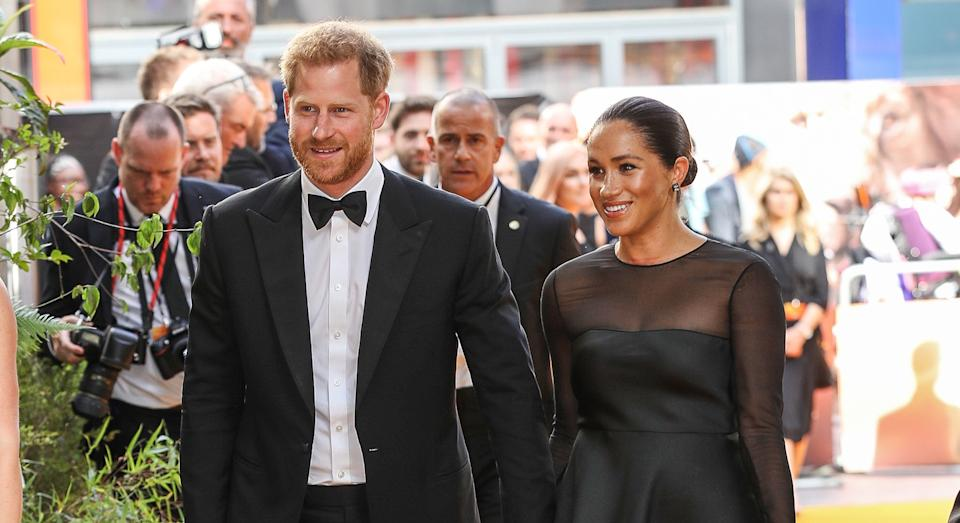 Prince Harry and Meghan Markle attended the Lion King premiere last weekend [Image: Getty]