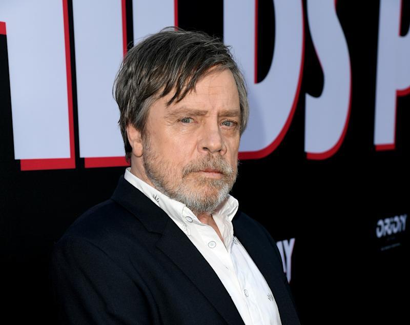 "HOLLYWOOD, CALIFORNIA - JUNE 19: Mark Hamill arrives at the premiere of Orion Pictures and United Artists Releasing"" ""Child's Play"" at ArcLight Hollywood on June 19, 2019 in Hollywood, California. (Photo by Kevin Winter/Getty Images)"