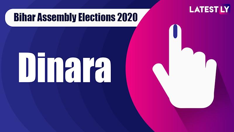 Dinara Vidhan Sabha Seat in Bihar Assembly Elections 2020: Candidates, MLA, Schedule And Result Date