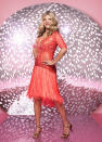 """<p>TV presenter and fashion expert Susannah Constantine said she's letting the Strictly wardrobe have almost full control on her outfits apart from these two exceptions: """"I have a couple of things, which is no high necklines, and I don't want to show my arms. I'll do anything else,"""" she told us.<br>(BBC Pictures). </p>"""