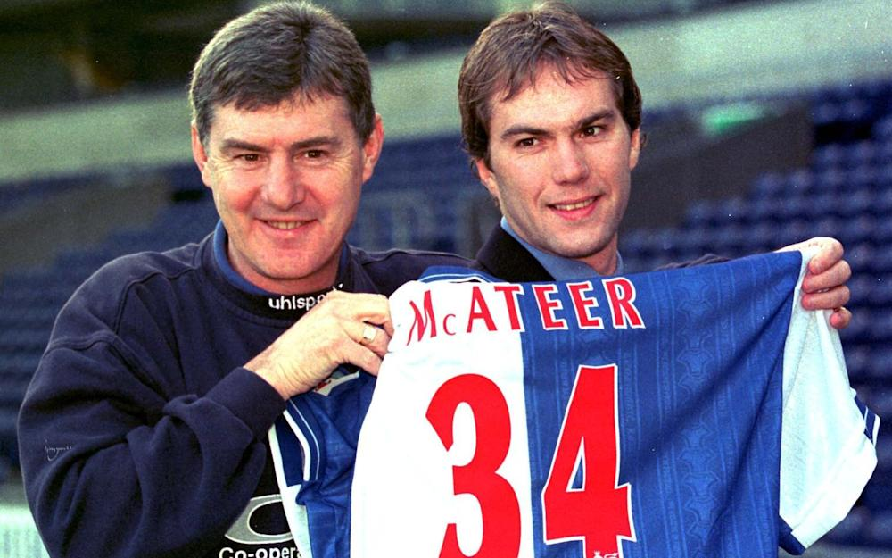 Jason McAteer with Brian Kidd - Credit: PA