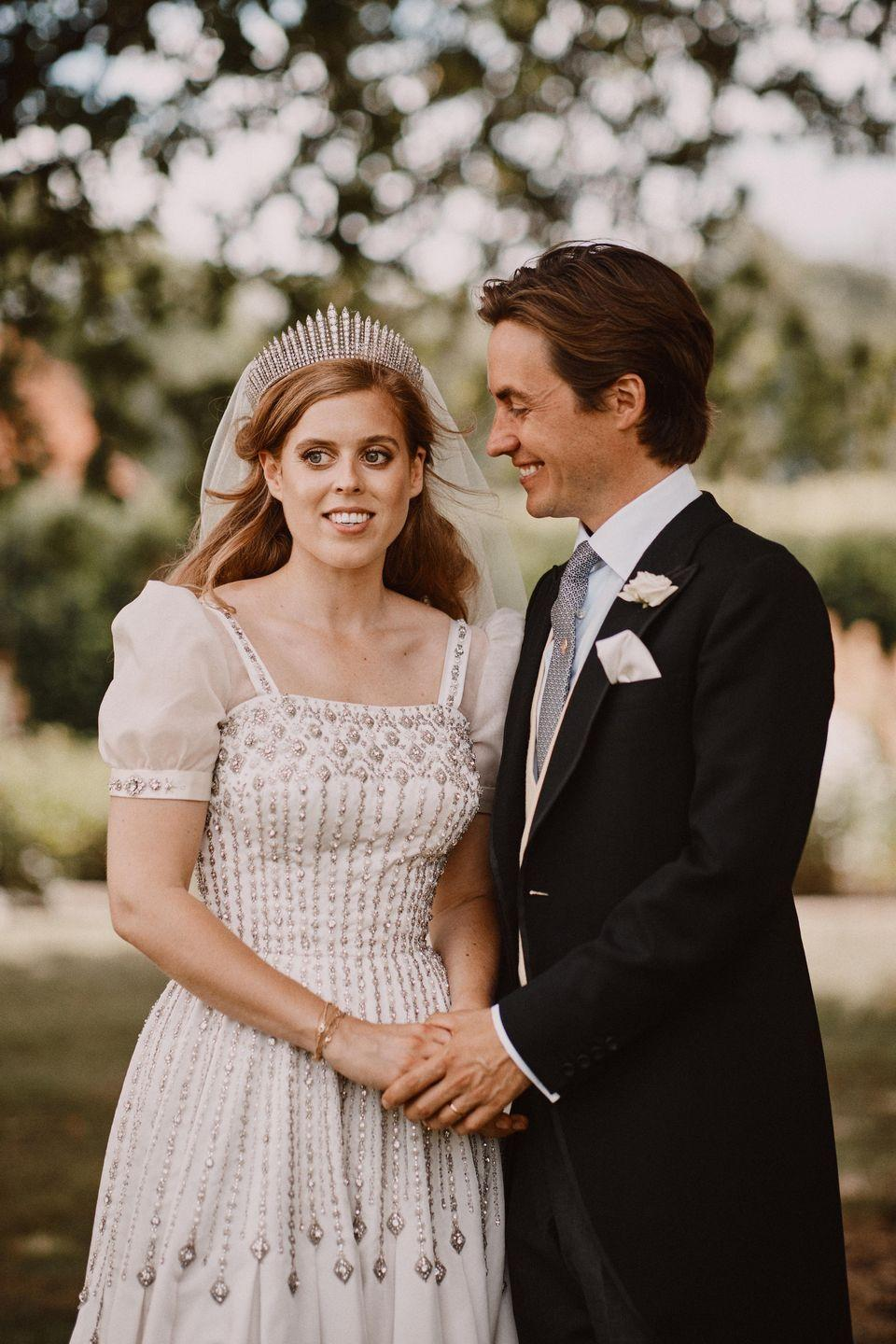 Queen Elizabeth Used A Tiara to Shape The Narrative Around Princess Beatrice's Wedding