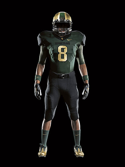 f4d55659022 Michigan State reveals Nike Pro Combat uniforms for Michigan game