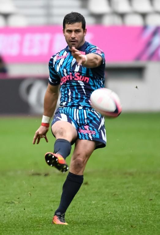 South African fly-half Morne Steyn will play his last game for Stade Francais in the Paris derby against Racing 92 (AFP Photo/BERTRAND GUAY)