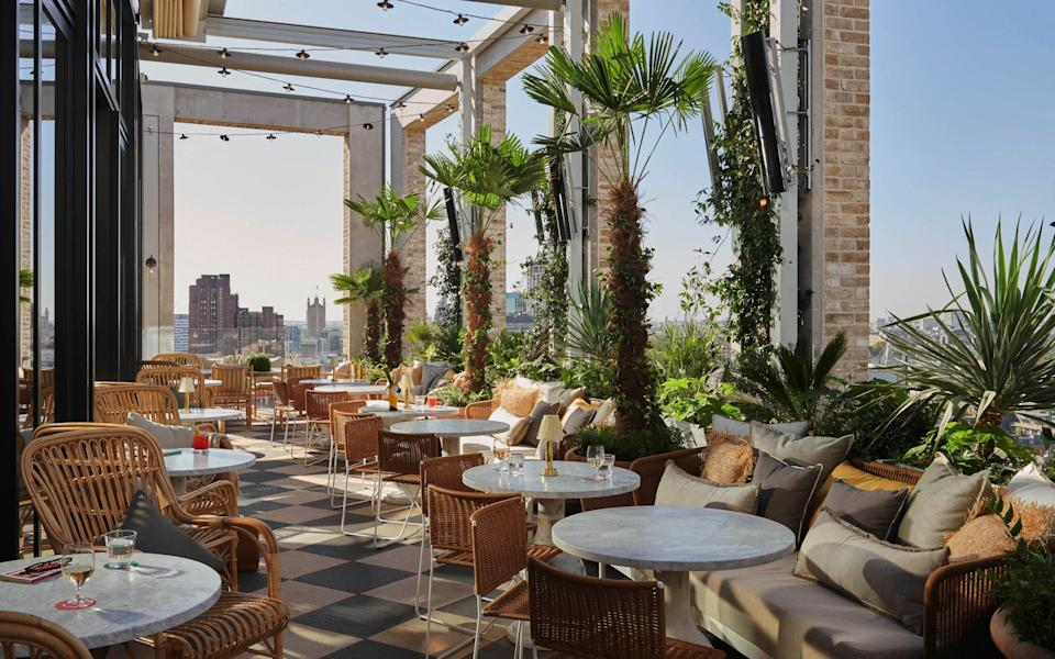 A leisurely afternoon on the 14th floor of the Hoxton Southwark is just the tonic