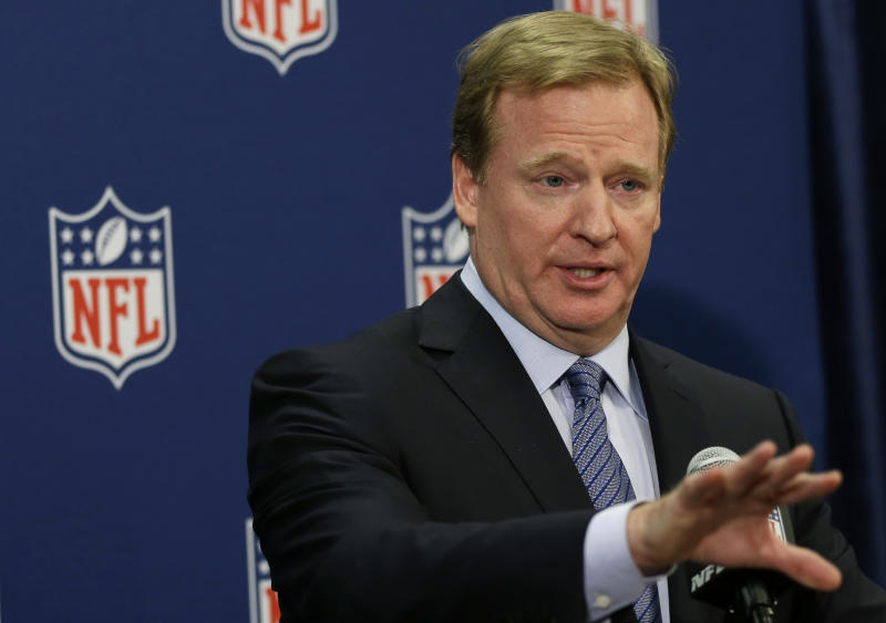 Column: Play ball with Goodell and NFL _ or else