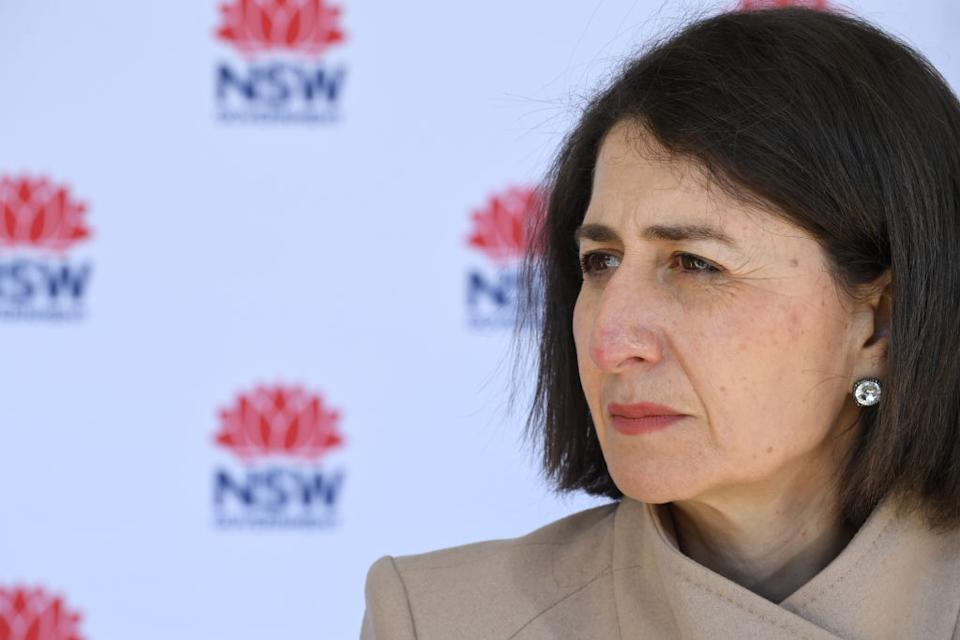 Premier Gladys Berejiklian is expected to extend Sydney's lockdown by a further week. Source: Getty