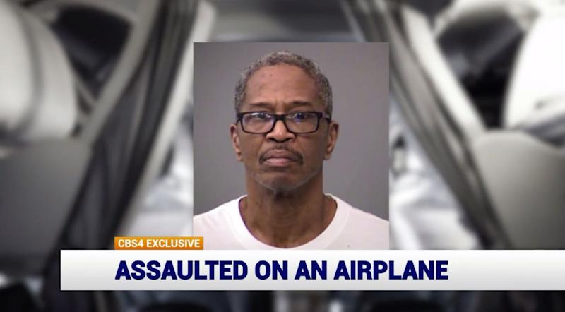 Man allegedly kisses and spits on woman on plane