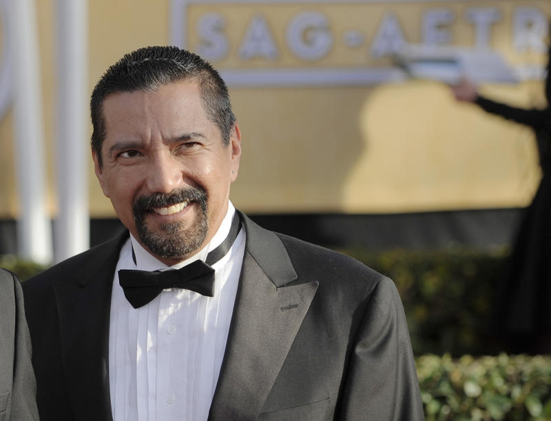 """FILE - This Jan. 27, 2013 file photo shows Steven Michael Quezada at the 19th Annual Screen Actors Guild Awards  in Los Angeles.  Quezada an actor from the TV show """"Breaking Bad"""" is set to be sworn in on Albuquerque's school board.  On Wednesday March 6, 2013,  Quezada is scheduled to take his oath during the board's regular meeting. He won a seat on the city's west side last month after running unopposed. (Photo by Chris Pizzello/Invision/AP, file)"""