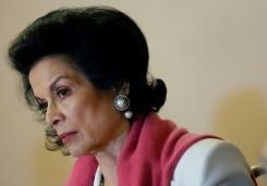 Bianca Jagger leads Nicaragua canal protest