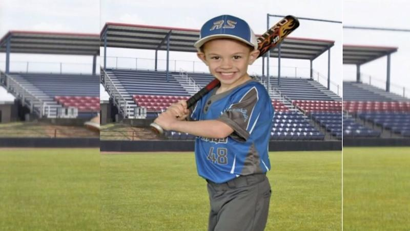 Brantley Chandler, 6, died unexpectedly from a heart attack after posing for his final baseball photo. (Photo: WCTV)