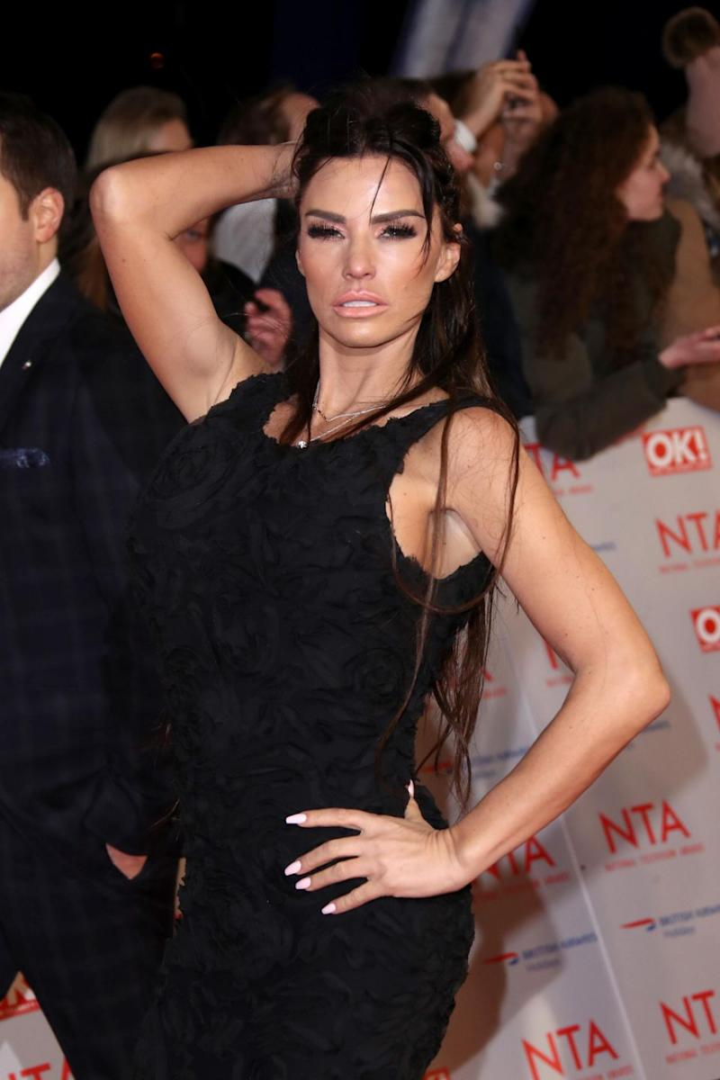 Katie Price has revealed that her latest trip to her plastic surgeon to have an 'invisible' facelift procedure has gone terribly wrong. Photo: Getty Images