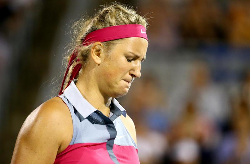 Tennis - Injured champion Azarenka withdraws from Cincy
