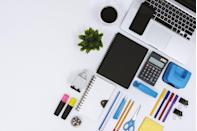 """<p>That wall of office supplies looks pretty attractive, with all its sharpened pencils and pads of sticky notes. But don't be fooled. According to Cheat Sheet, these office items come at a premium, and you'd be <a href=""""https://www.cheatsheet.com/money-career/8-things-never-buy-supermarket.html/"""" rel=""""nofollow noopener"""" target=""""_blank"""" data-ylk=""""slk:better off buying them online or at a local dollar store"""" class=""""link rapid-noclick-resp"""">better off buying them online or at a local dollar store</a>.</p>"""