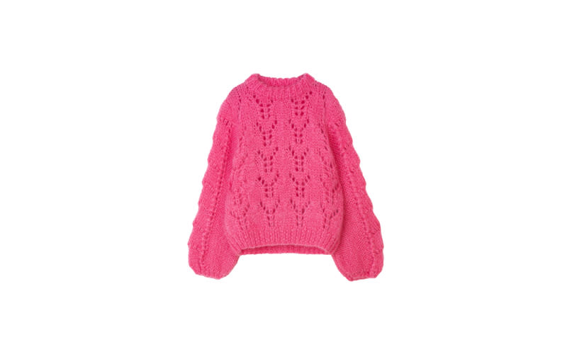 "<p>On the lookout for a chunky knit to drape over your old summer slip dress or perhaps one to team with your brand spanking new silk skirt? Ganni is the Scandi label to turn to this autumn for all of your knitwear needs and this bad boy is sitting pretty at the top of our list. <em>£355, <a rel=""nofollow"" href=""https://www.ganni.com/en/the-julliard-mohair-pullover-K1025.html"">Ganni</a></em> </p>"