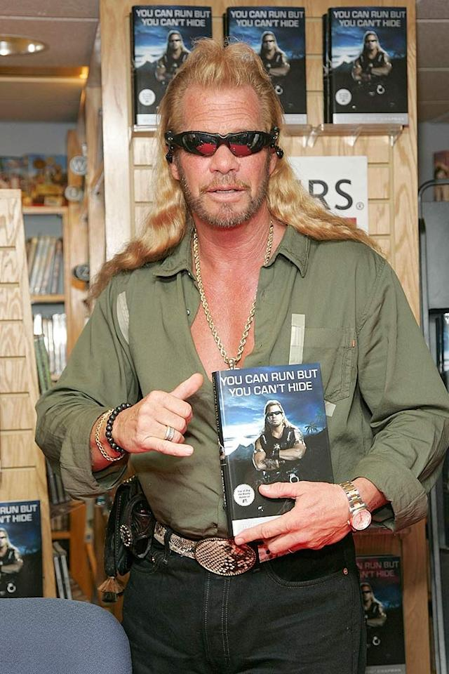 "When Duane Chapman, better known as Dog the Bounty Hunter, dropped the N bomb six times in a taped conversation with his son Tucker, he essentially kissed his television career and seven-figure paycheck goodbye. Despite apologizing for his use of the racial slur, A&E announced they they would be pulling Dog's hit show from the schedule ""for the foreseeable future."" Brian Ach/<a href=""http://www.wireimage.com"" target=""new"">WireImage.com</a> - August 7, 2007"