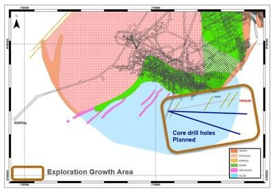 Figure 1: El Valle plan view (CNW Group/Orvana Minerals Corp.)
