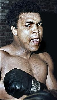 Muhammad Ali's personal beliefs were as well-known as his boxing skills