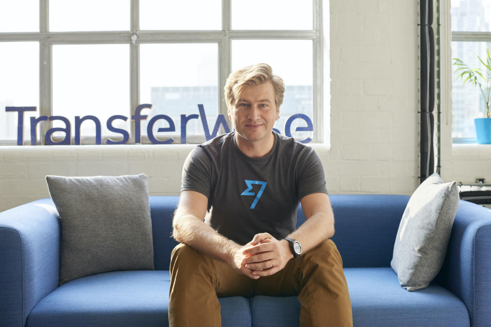 Kristo Kaarmann, TransferWise cofounder and CEO. Photo: TransferWise