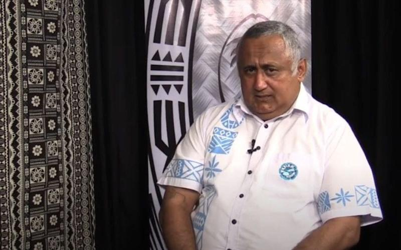 Former Fijian Rugby Union president Francis Kean was allegedly part of a bribe to back Bill Beaumont - ALICE HEPPLE