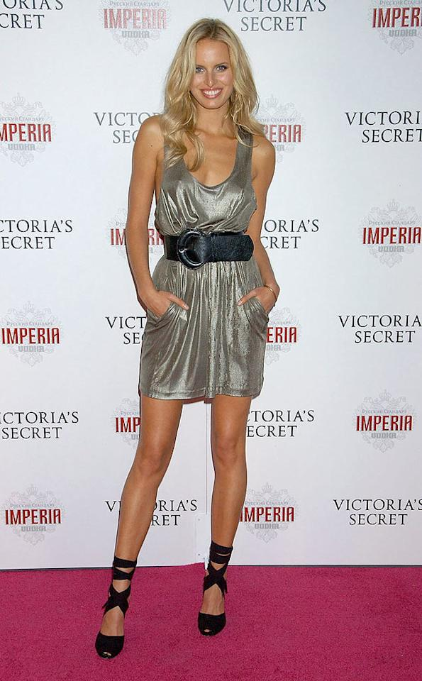 Model Karolina Kurkova arrives at the 12th Annual Victoria's Secret Fashion Show after party at the Kodak Theatre on November 15, 2007 in Hollywood, California. 12th Annual Victoria's Secret Fashion Show - After-Party Renaissance Hotel Hollywood, CA United States November 15, 2007 Photo by Gregg DeGuire/WireImage.com To license this image (15146429), contact WireImage.com